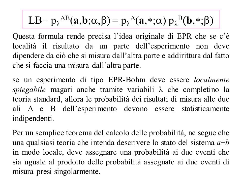 LB= plAB(a,b;a,b) = plA(a,*;a) plB(b,*;b)