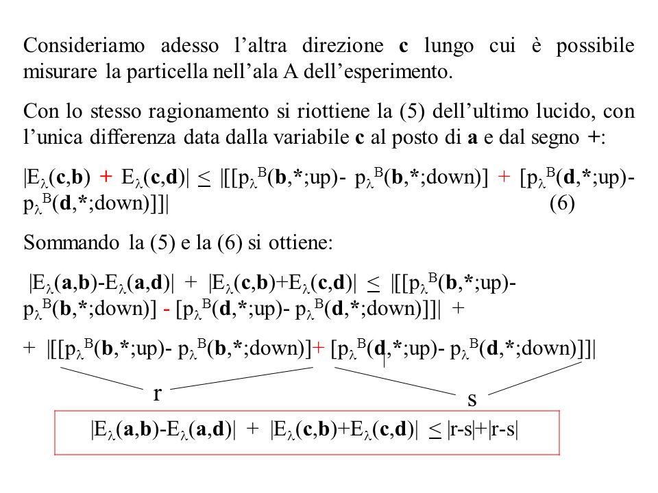 |El(a,b)-El(a,d)| + |El(c,b)+El(c,d)| < |r-s|+|r-s|