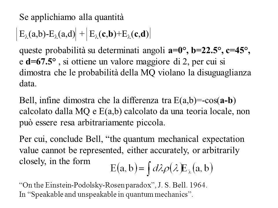 Se applichiamo alla quantità El(a,b)-El(a,d) + El(c,b)+El(c,d)