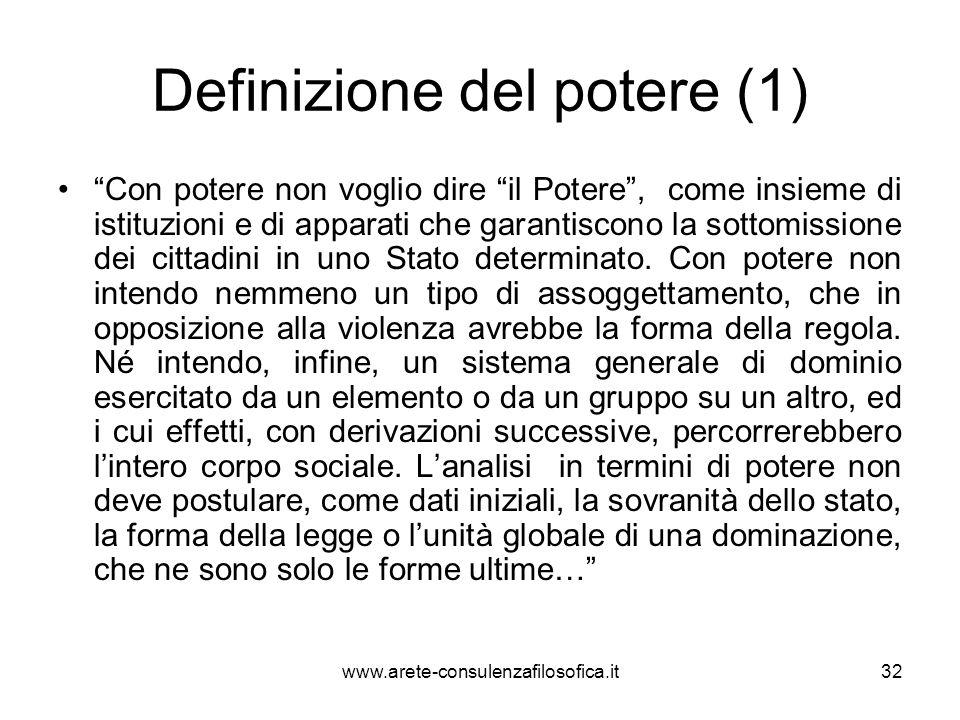 Definizione del potere (1)