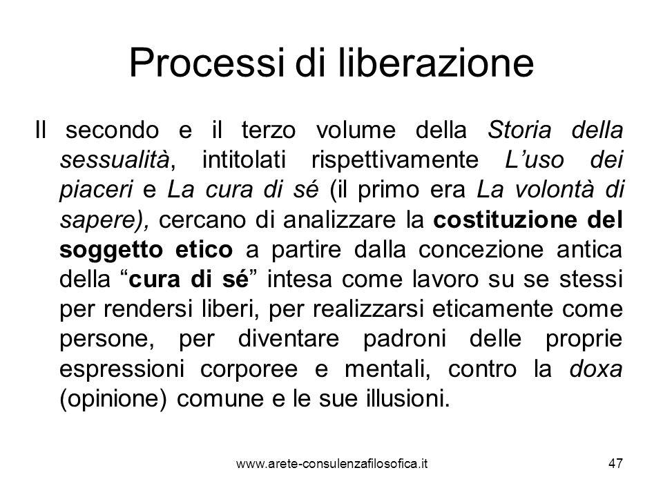 Processi di liberazione
