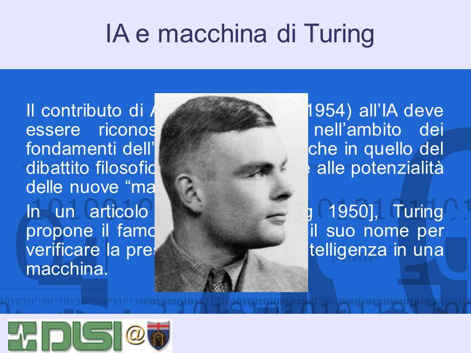 IA e macchina di Turing