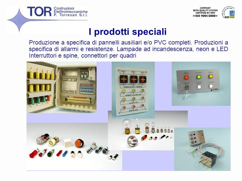 I prodotti speciali