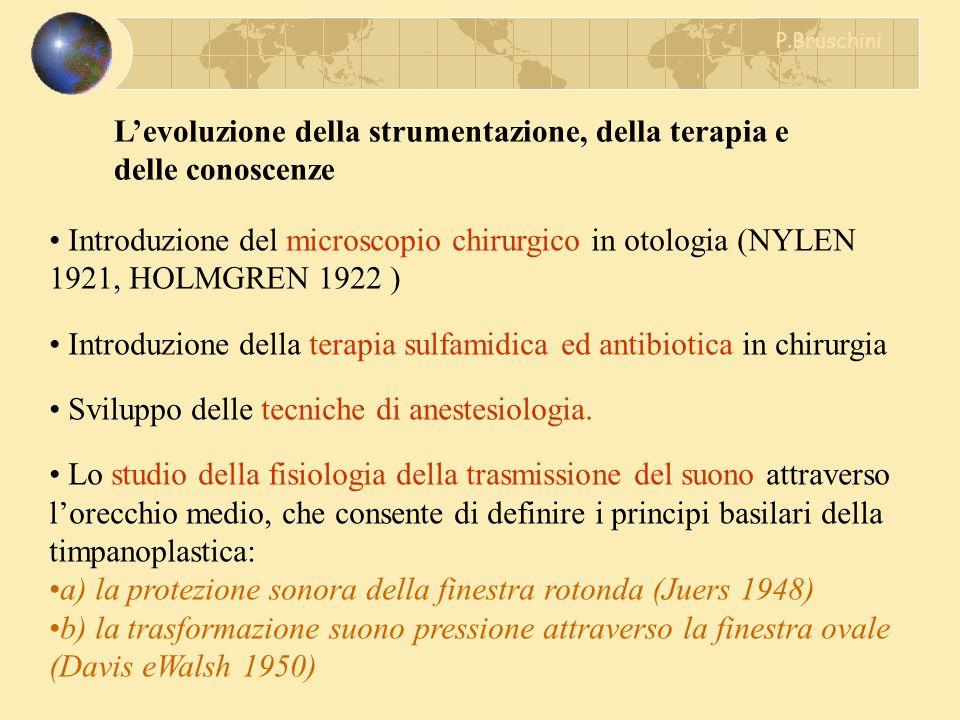 L'evoluzione della strumentazione, della terapia e delle conoscenze
