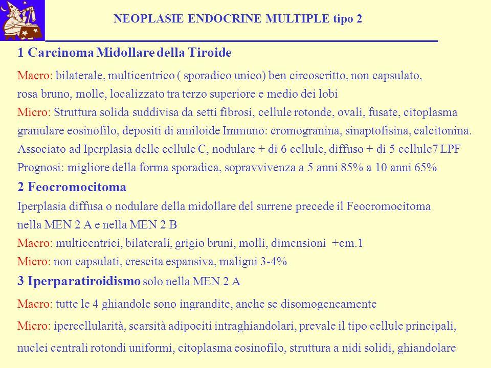 3 Iperparatiroidismo solo nella MEN 2 A