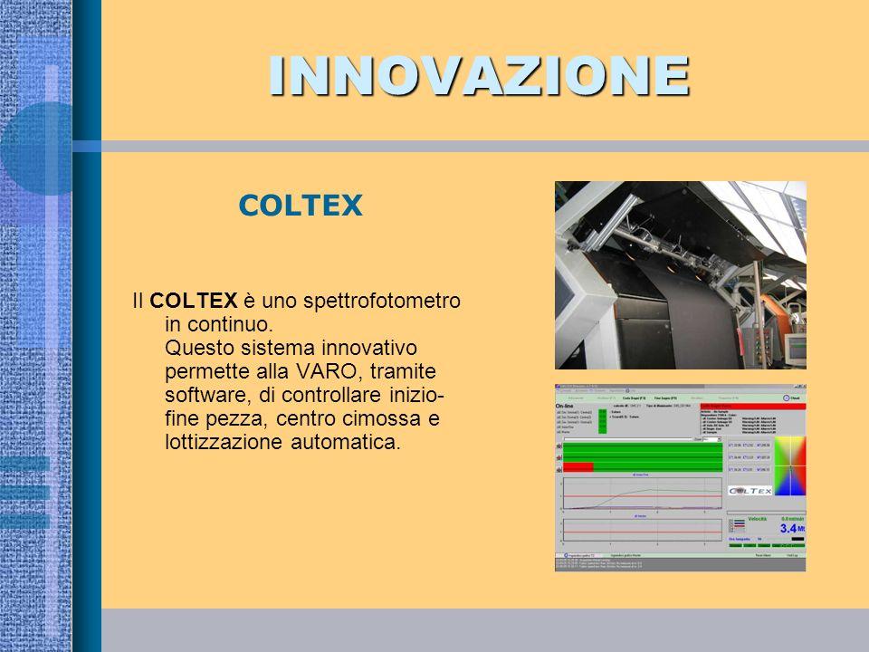 INNOVAZIONE COLTEX.