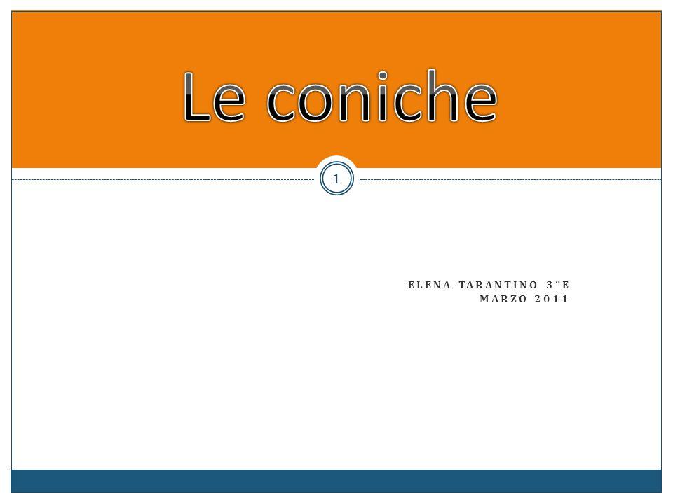 Le conicheElena tarantino 3°e Marzo 2011.