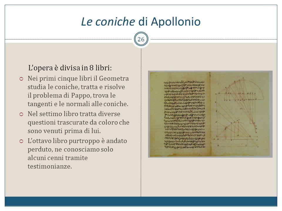 Le coniche di Apollonio