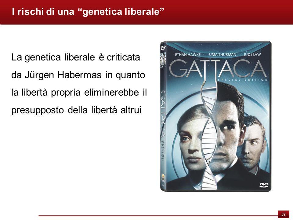 I rischi di una genetica liberale