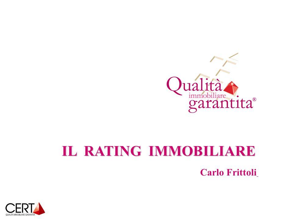 IL RATING IMMOBILIARE Carlo Frittoli