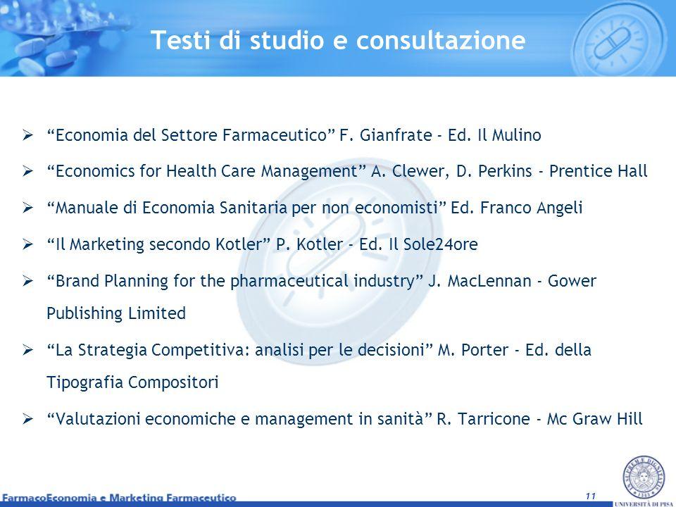 Testi di studio e consultazione