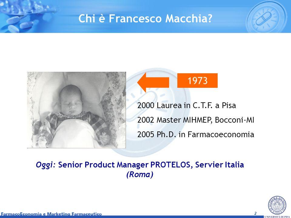 Chi è Francesco Macchia