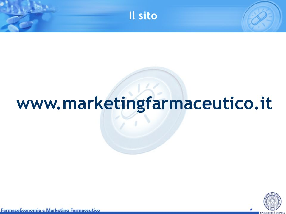 Il sito www.marketingfarmaceutico.it