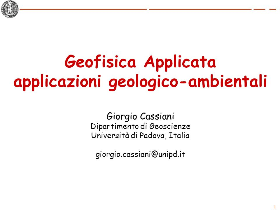 applicazioni geologico-ambientali