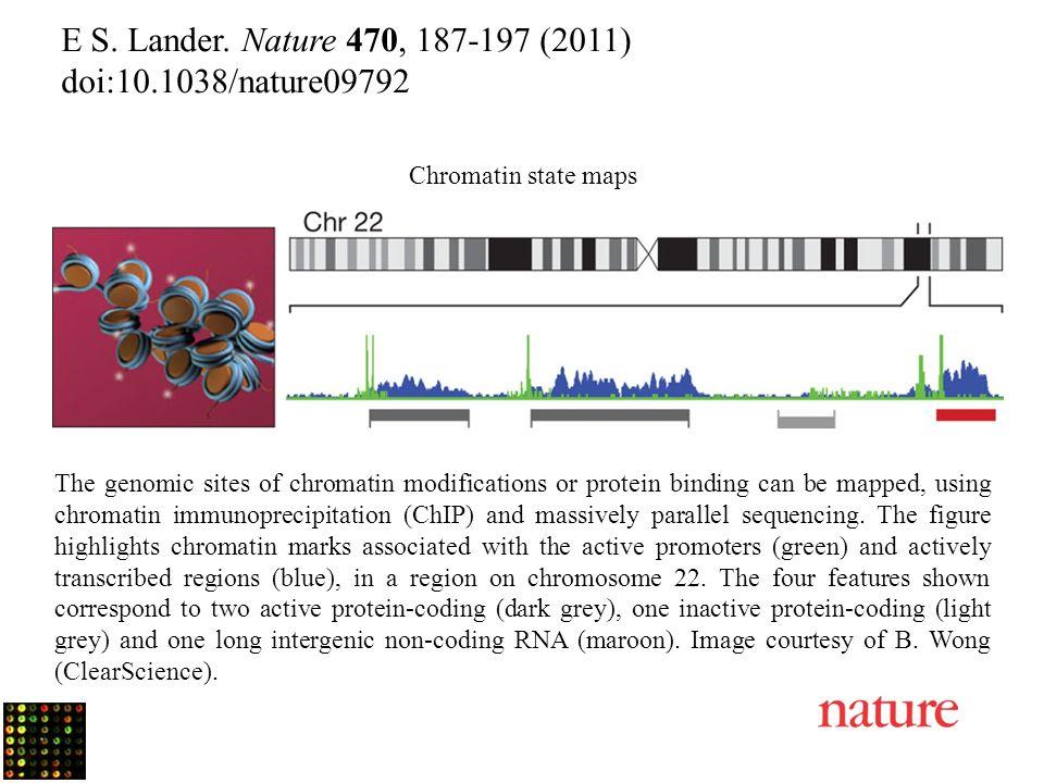 E S. Lander. Nature 470, 187-197 (2011) doi:10.1038/nature09792