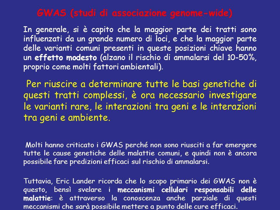 GWAS (studi di associazione genome-wide)
