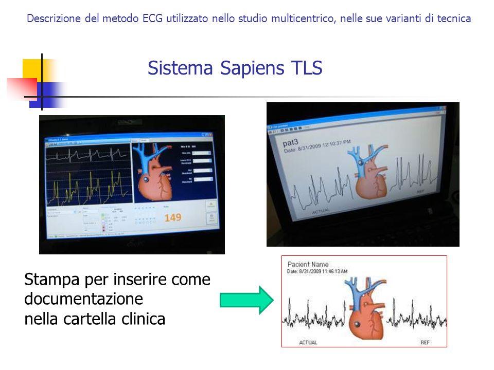 Sistema Sapiens TLS Stampa per inserire come documentazione