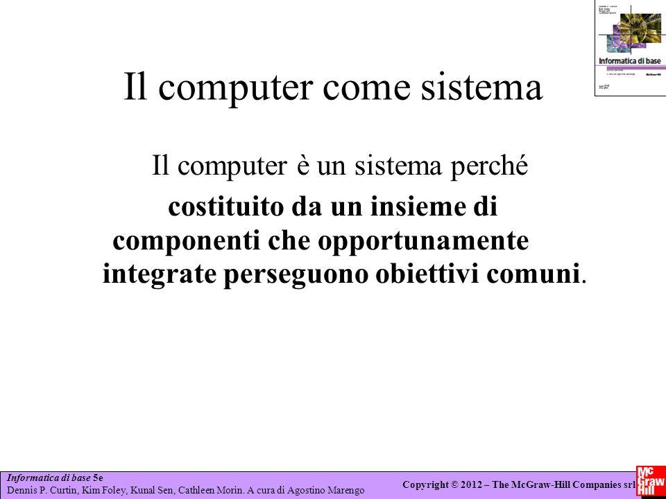 Il computer come sistema