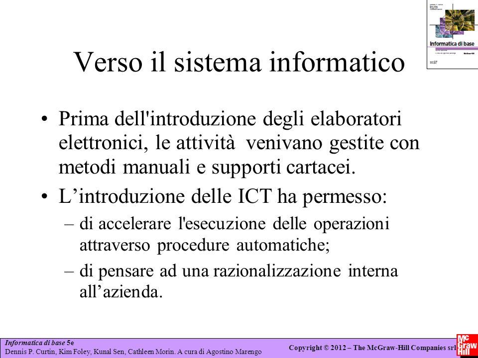 Verso il sistema informatico