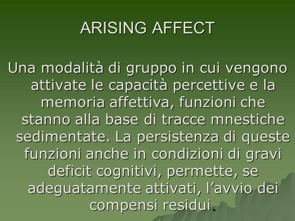 ARISING AFFECT