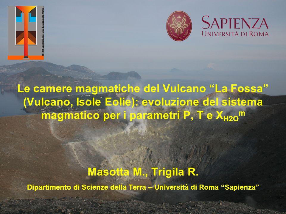 Dipartimento di Scienze della Terra – Università di Roma Sapienza