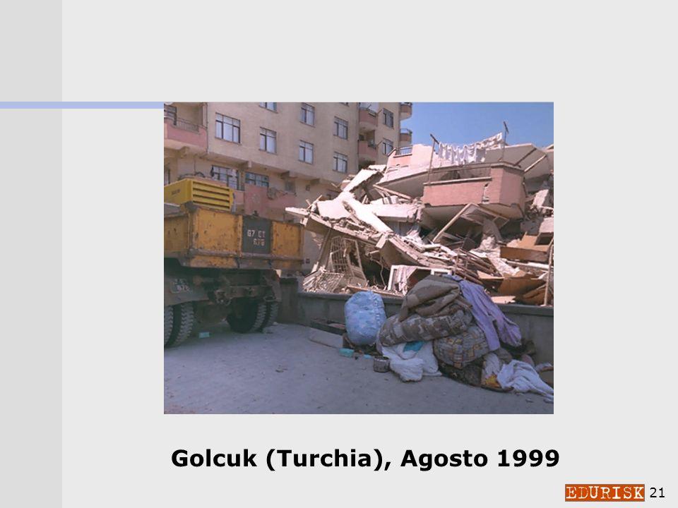 Golcuk (Turchia), Agosto 1999