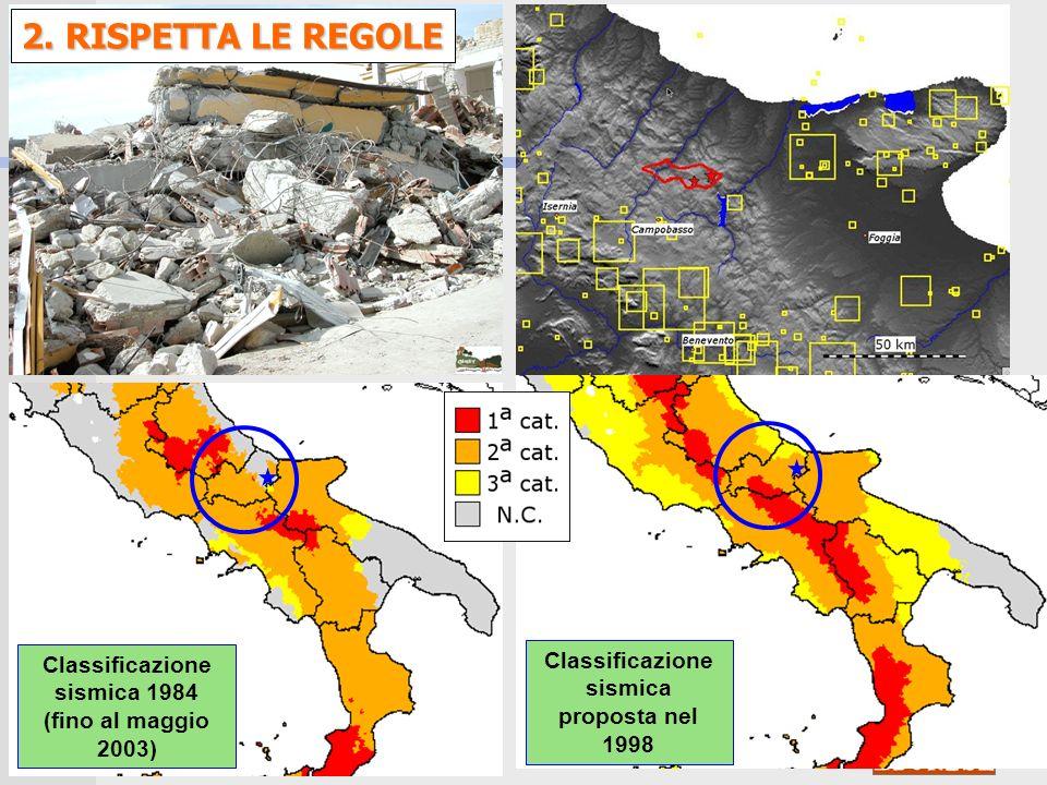 Classificazione sismica 1984 (fino al maggio 2003)