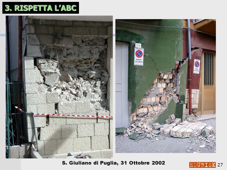 3. RISPETTA L'ABC S. Giuliano di Puglia, 31 Ottobre 2002