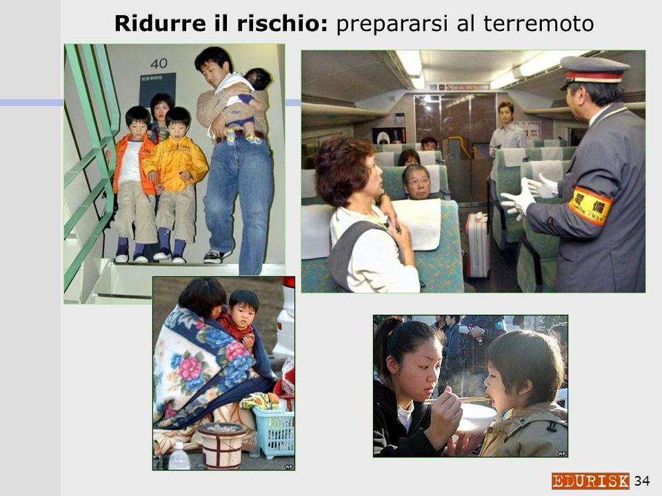Ridurre il rischio: prepararsi al terremoto