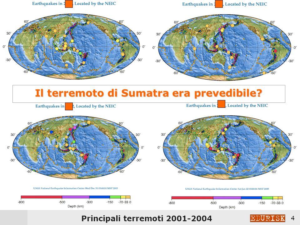 Il terremoto di Sumatra era prevedibile