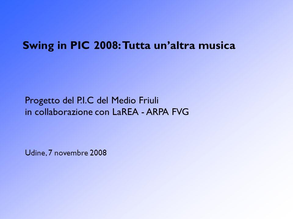 Swing in PIC 2008: Tutta un'altra musica