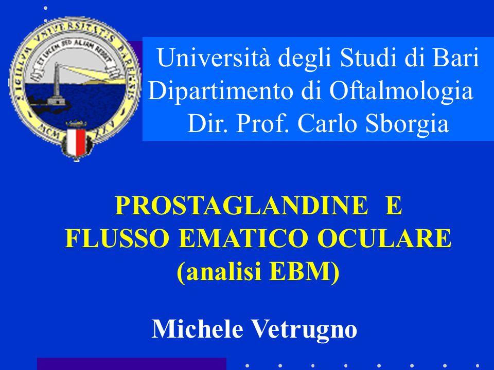 FLUSSO EMATICO OCULARE