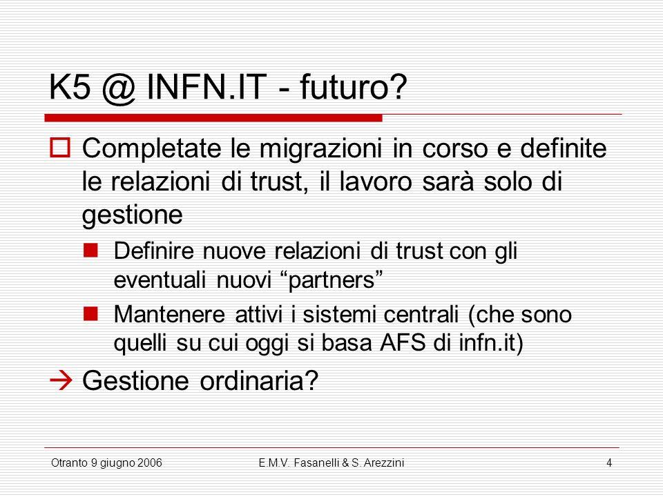 E.M.V. Fasanelli & S. Arezzini