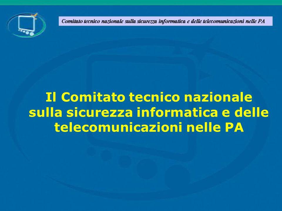 Il Comitato tecnico nazionale sulla sicurezza informatica e delle telecomunicazioni nelle PA