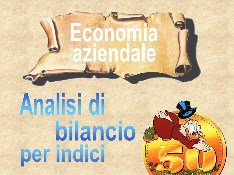 Economia aziendale Analisi di bilancio per indici