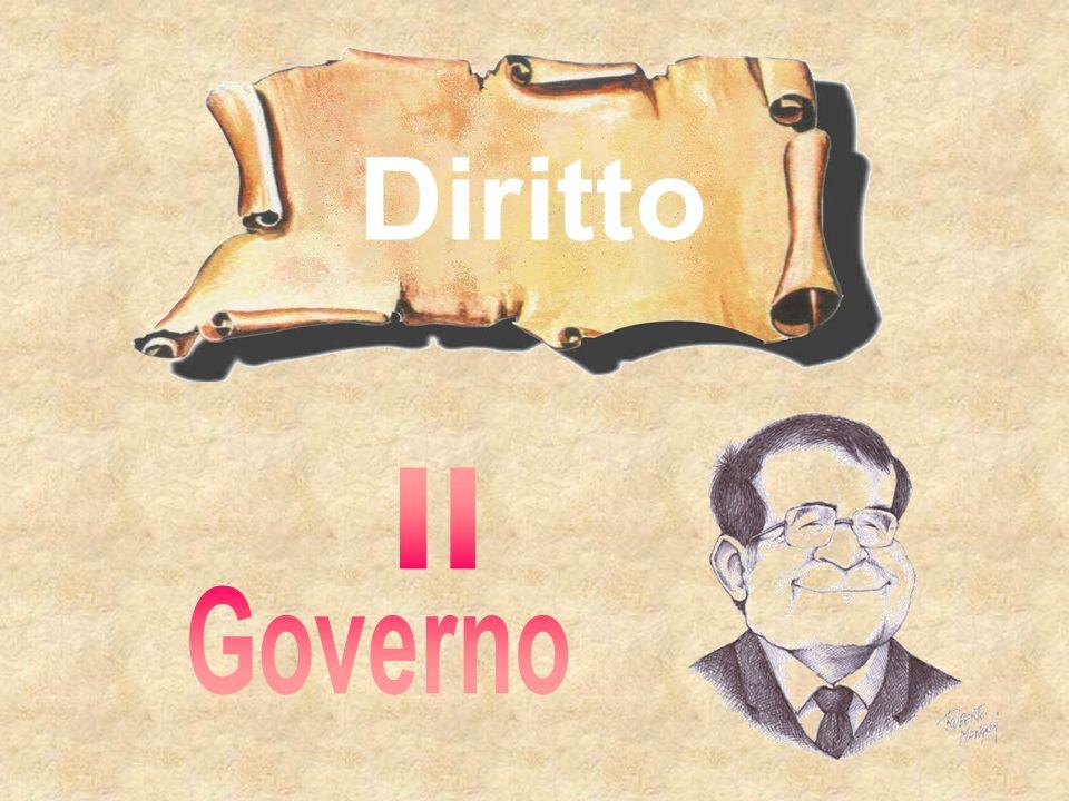 Diritto Il Governo