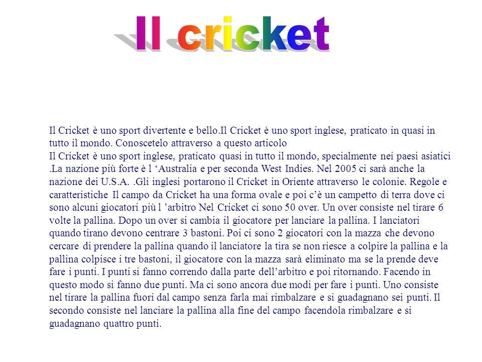Il cricket