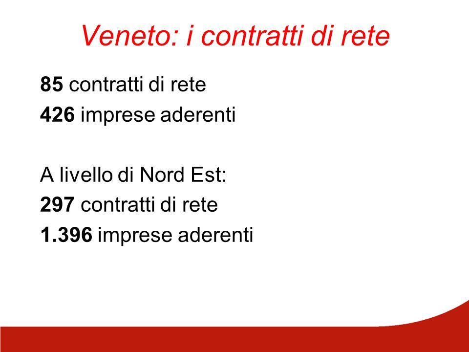 Veneto: i contratti di rete