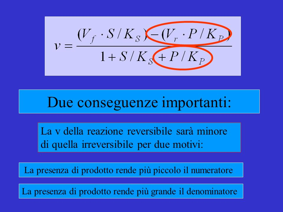 Due conseguenze importanti: