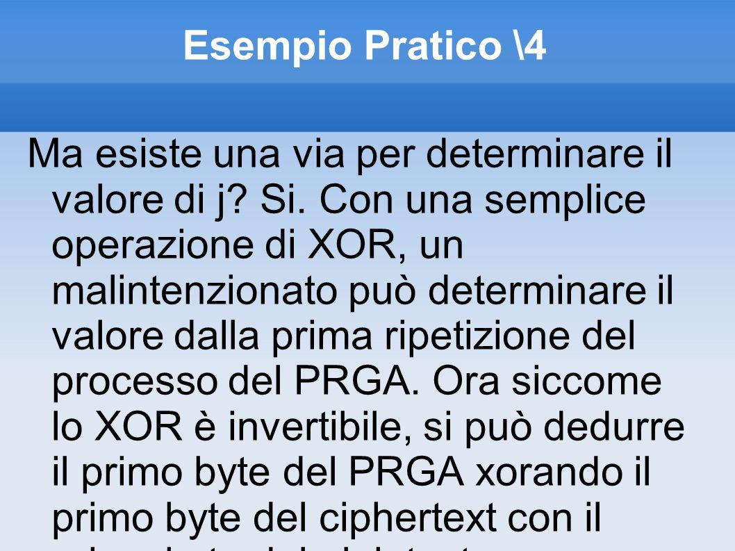 Esempio Pratico \4