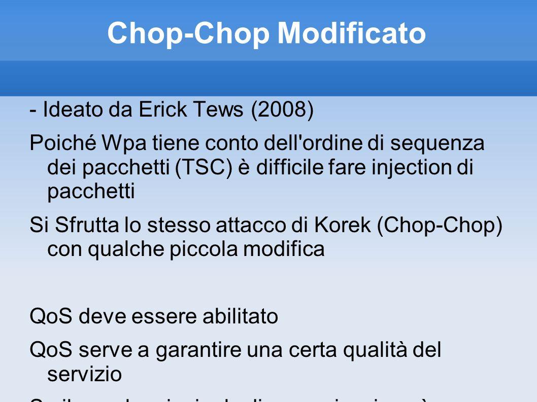 Chop-Chop Modificato - Ideato da Erick Tews (2008)