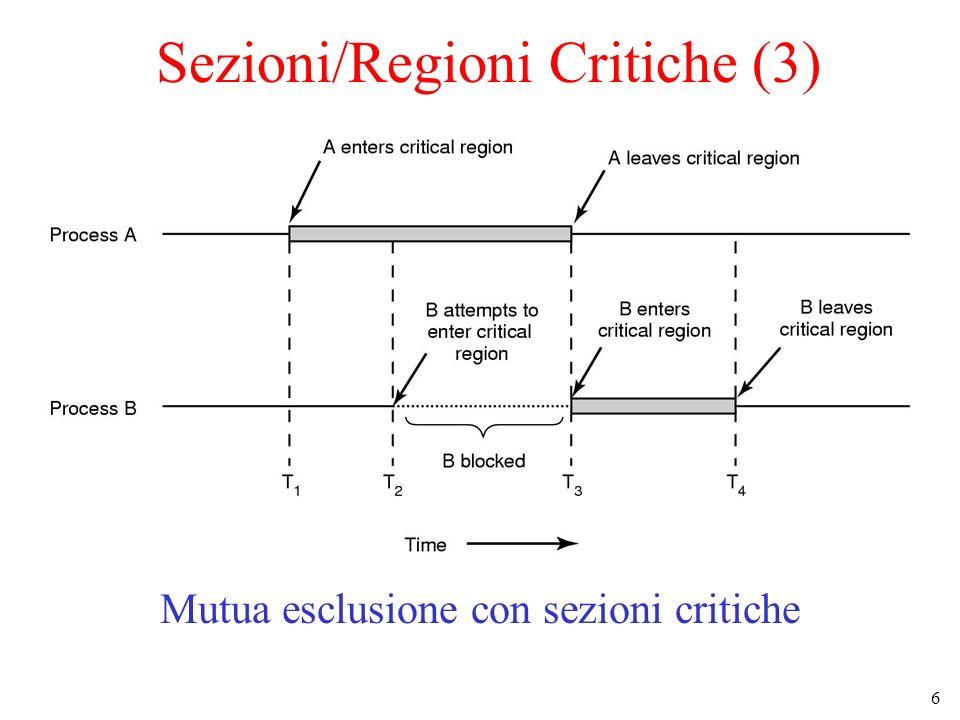 Sezioni/Regioni Critiche (3)