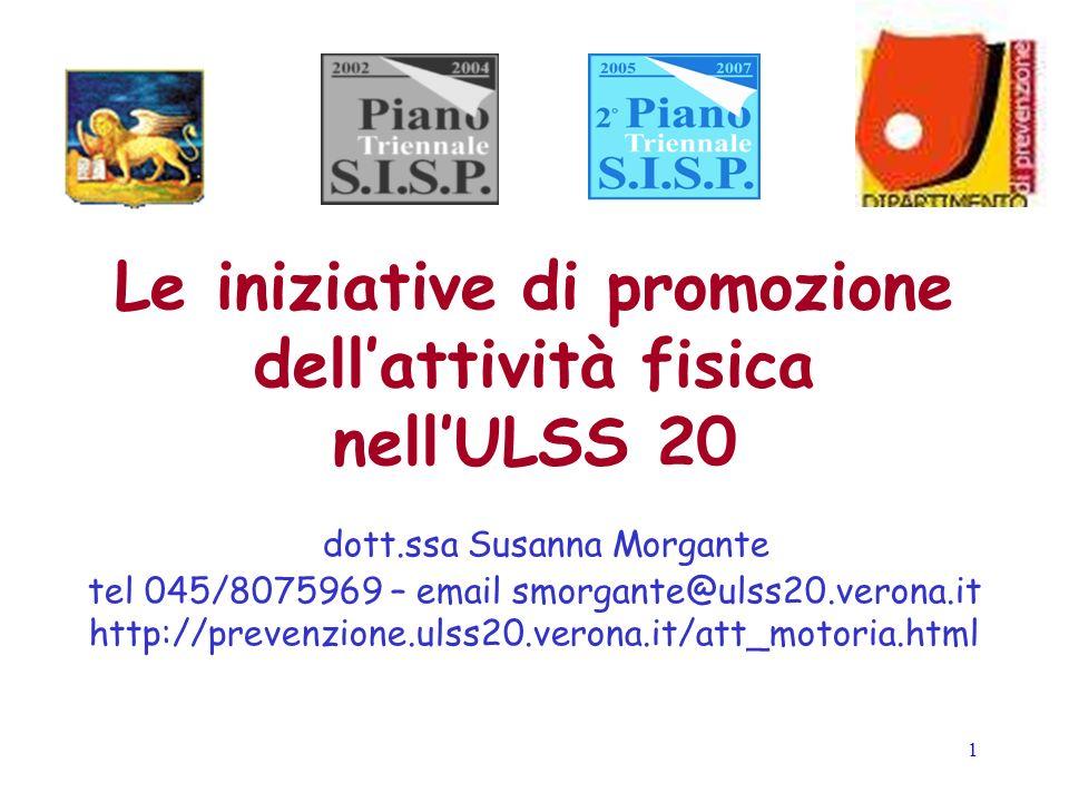 Le iniziative di promozione