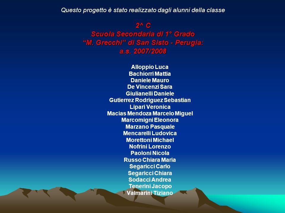 Scuola Secondaria di 1° Grado M. Grecchi di San Sisto - Perugia: