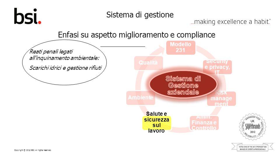 Amm. Finanza e Controllo Salute e sicurezza sul lavoro