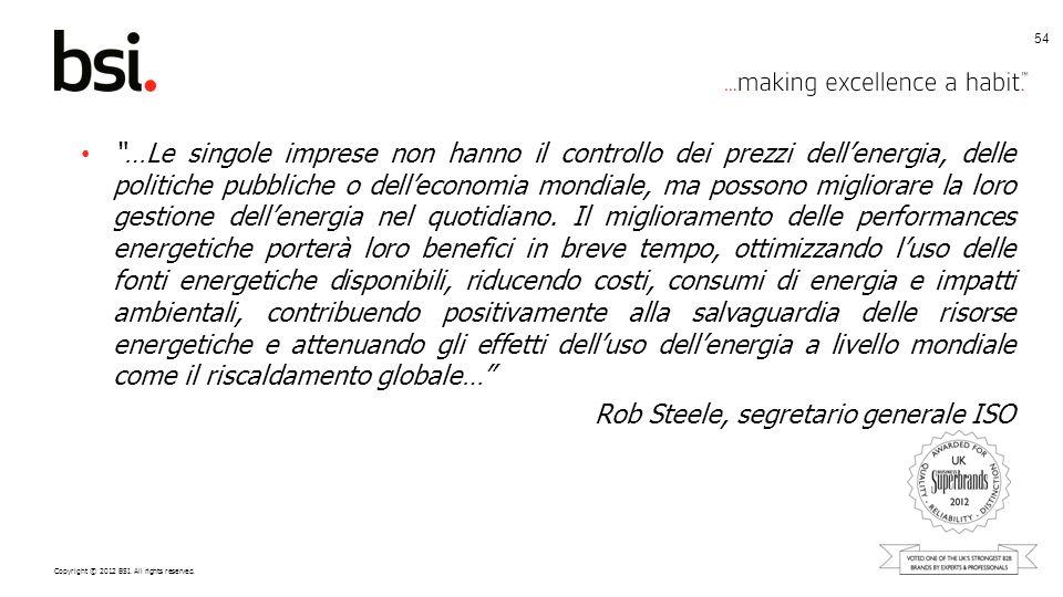 Rob Steele, segretario generale ISO