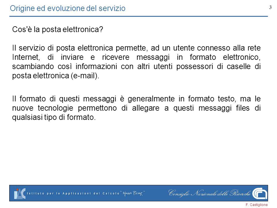 Origine ed evoluzione del servizio