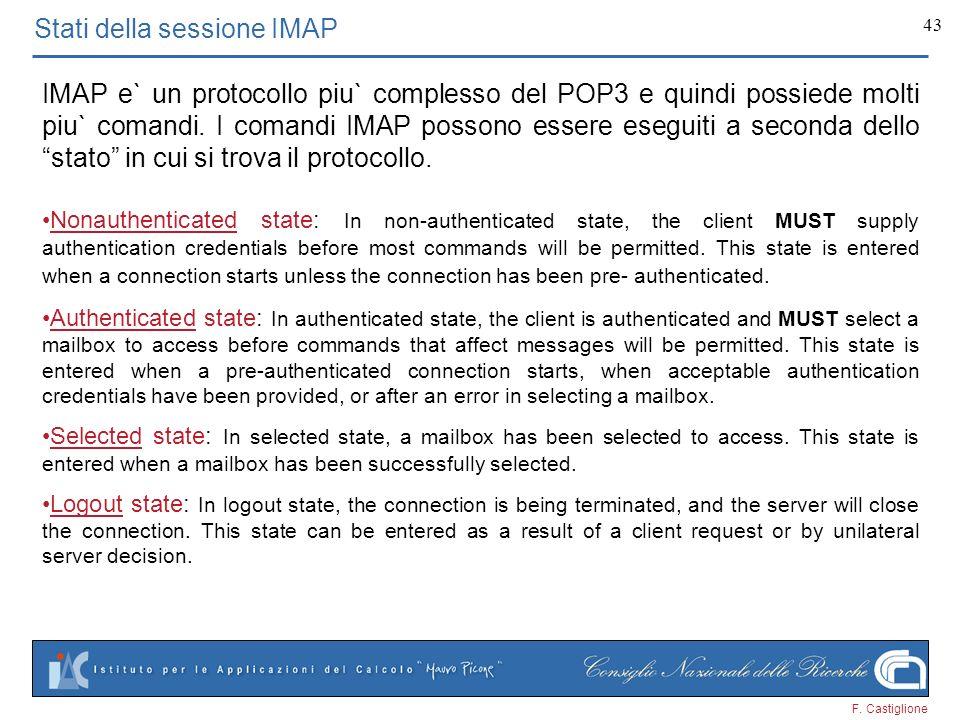 Stati della sessione IMAP