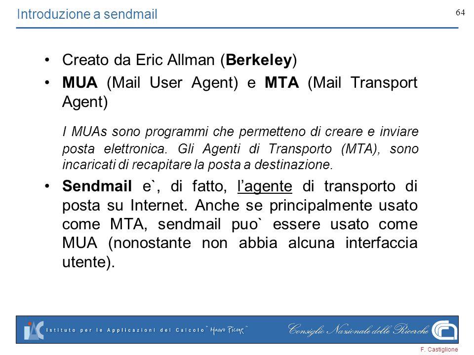 Introduzione a sendmail