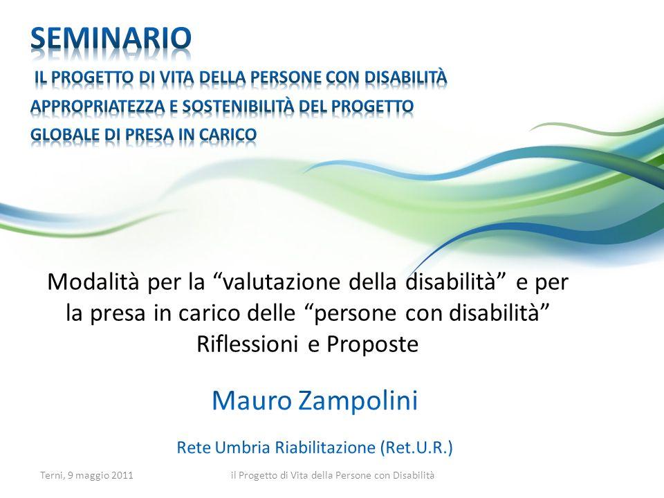 Mauro Zampolini Rete Umbria Riabilitazione (Ret.U.R.)